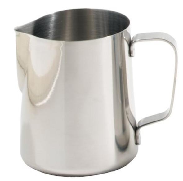 milk steaming pitcher