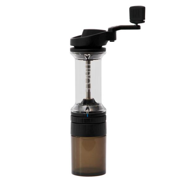orphan espresso lido e-t hand grinder in matte black