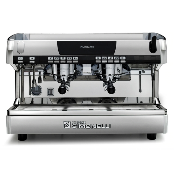 Nuova Simonelli Aurelia II Automatic Volumetric 2 Group Espresso Machine