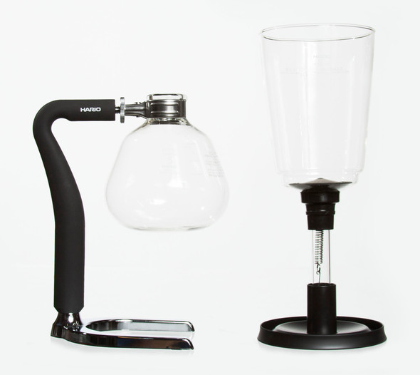 Coffee siphon lower chamber upper chamber