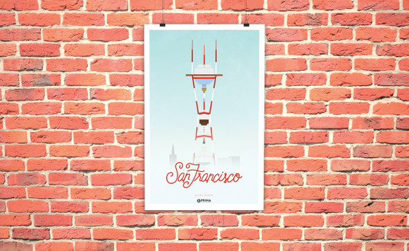 San Francisco Coffee City Poster