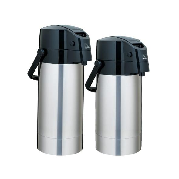 Zojirushi Air Pot Stainless Steel Beverage Dispenser SR-AG38XA