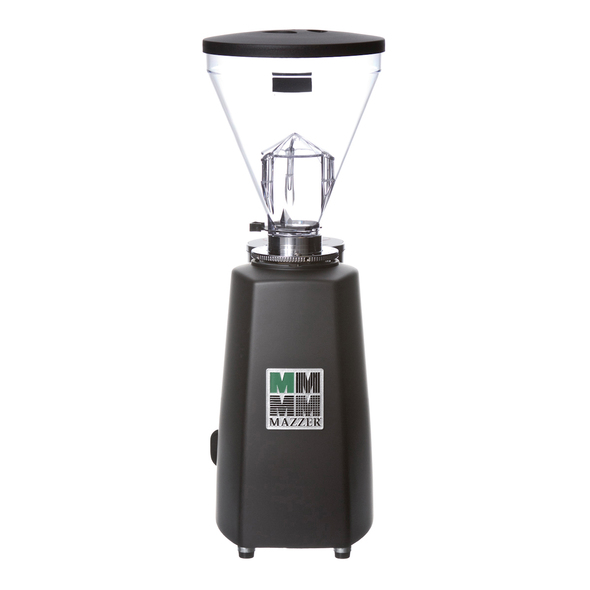 Mazzer Super Jolly Electronic Doserless Espresso Grinder Black Back