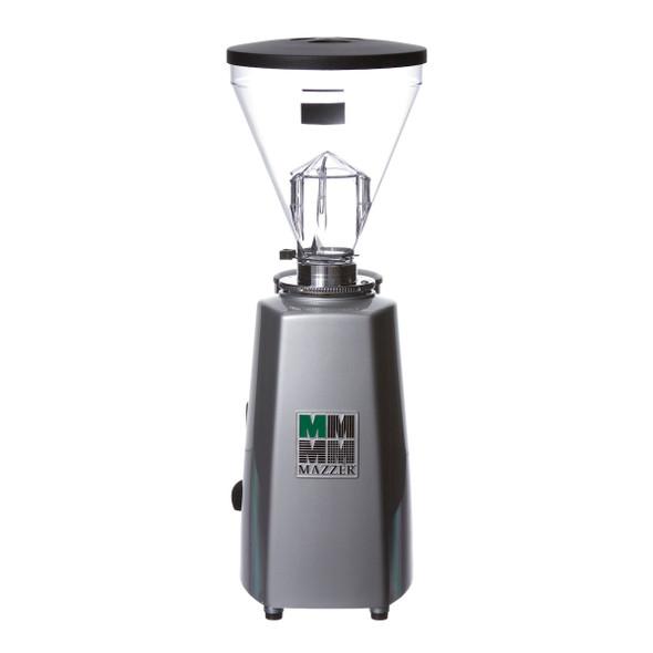 Mazzer Super Jolly Silver Espresso Flat Burr Grinder Back