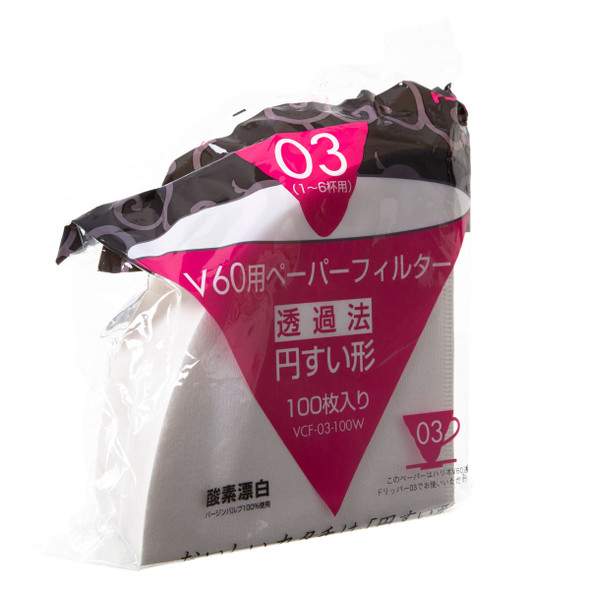 Hario V60 Size 03 White Filters