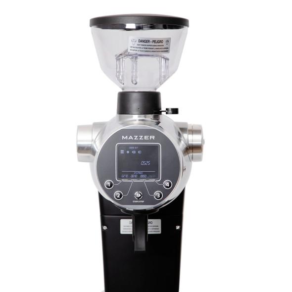 Mazzer ZM grinder close up
