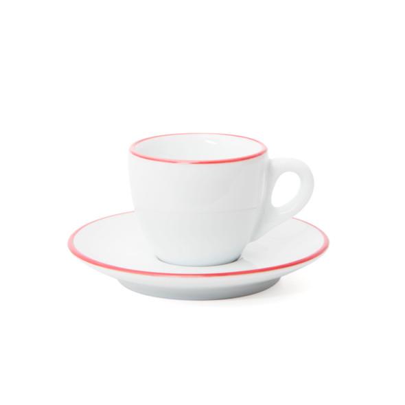 Ancap Red Painted-Rim espresso