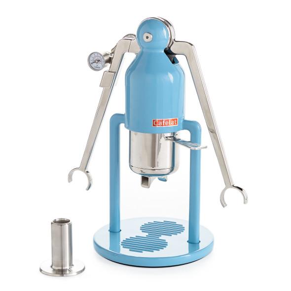 Cafelat Robot Barista Manual Lever Espresso Maker - Blue