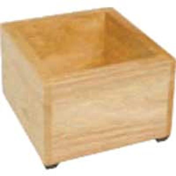 Wooden knockbox case and holder