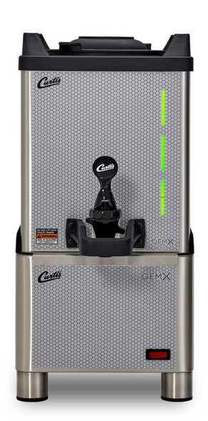 Curtis GemX Gemini IntelliFresh FreshTrac 1.5 Gallon Satellite with Remote Warming Stand (sold separately)