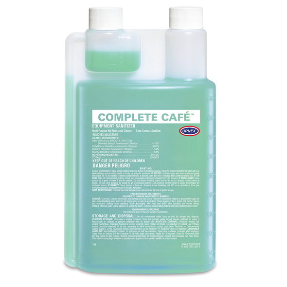 Urnex Complete Cafe Equipment Sanitizer