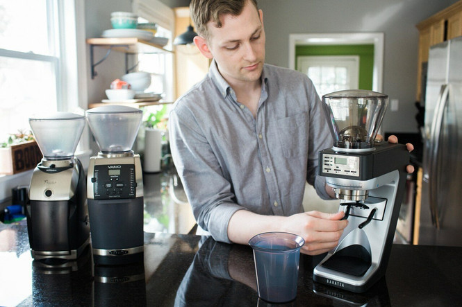 Baratza Sette 270 Coffee and Espresso Grinder Movable Forks Home Use Comparison