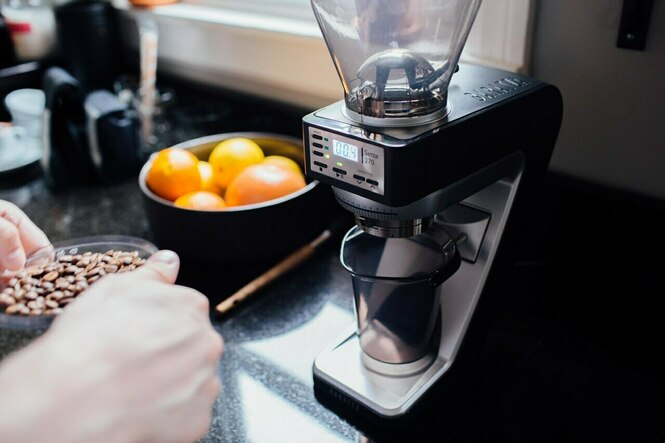 Baratza Sette 270 Conical Burr Coffee Grinder at Home