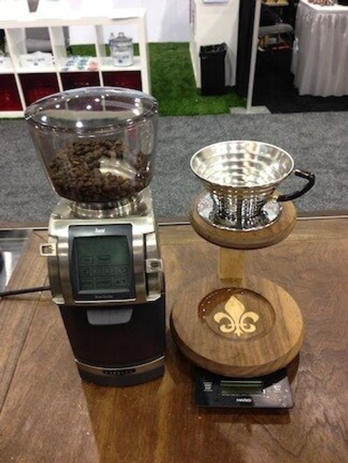 Baratza Forte 1085 Pourover Coffee Grinder Setup