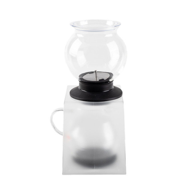 Back of tea stand and tea dripper