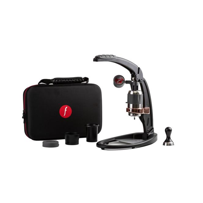 Flair Signature Pro 2 Manual Espresso Maker, Black with Bag