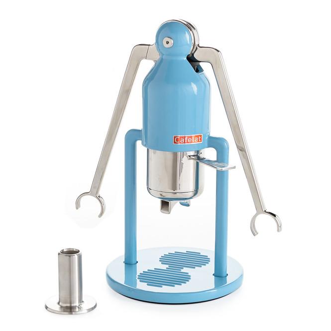 Cafelat Robot Manual Lever Espresso Maker - Blue
