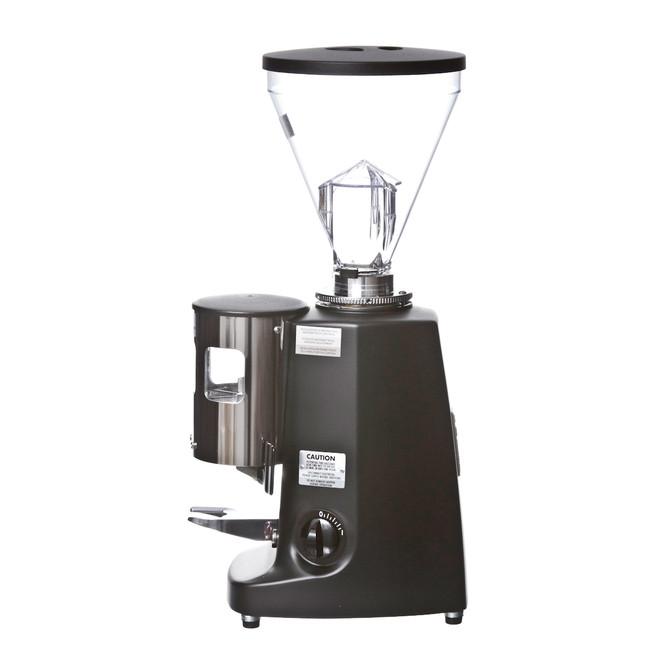 Mazzer Super Jolly Espresso Grinder in Black Left