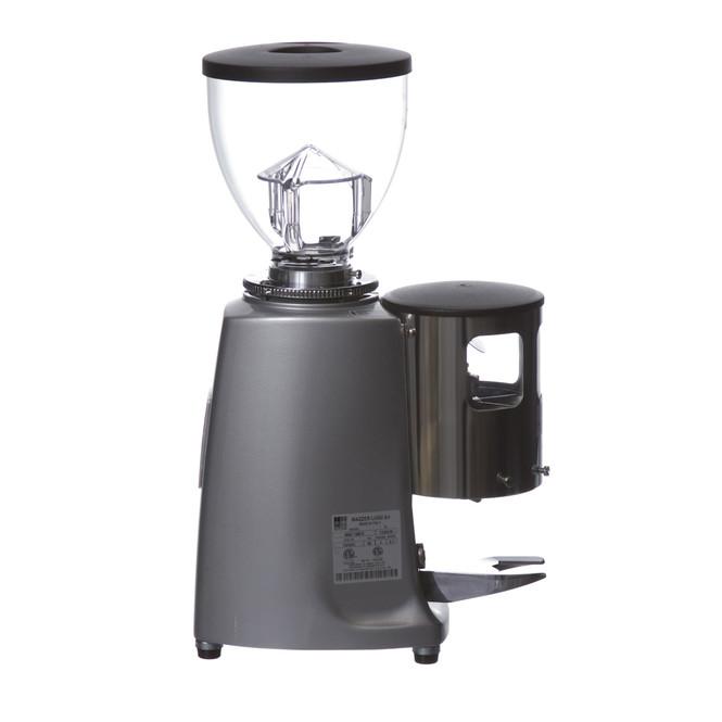 Silver Mazzer Mini Espresso Grinder Right View