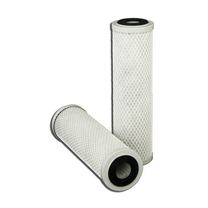 View of replacement filters