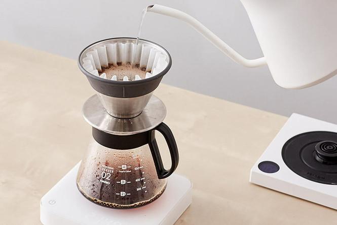 Hario Range Server and December Coffee Dripper