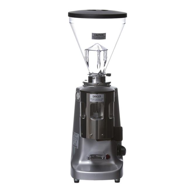 Mazzer Super Jolly Silver Espresso Flat Burr Grinder Front