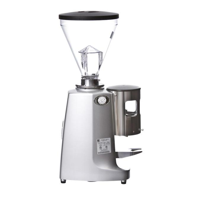 Mazzer Super Jolly Silver Espresso Flat Burr Grinder Right
