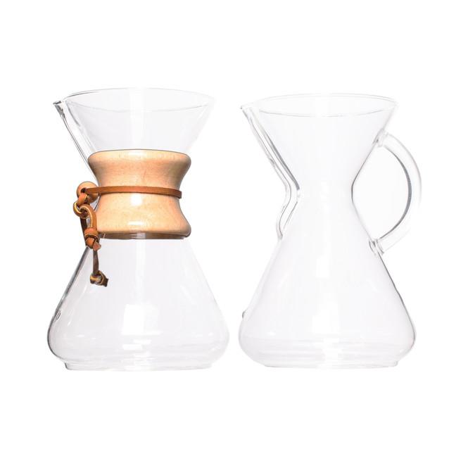 Chemex Classic Series Glass Coffeemaker, 10 cup capacity