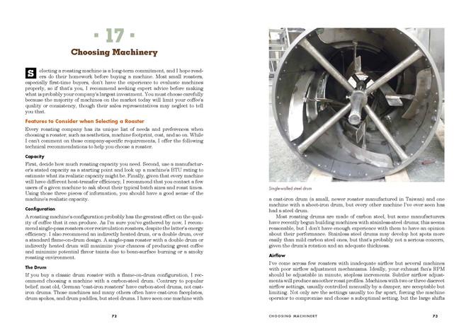 Scott Rao Coffee Roaster's Companion Page Detail 72 73