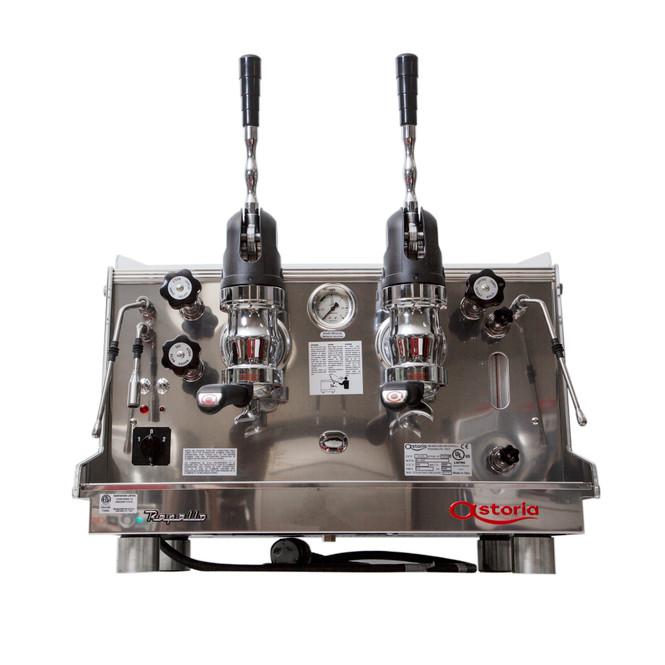 Astoria Rapallo AL lever espresso machine 2 group front view