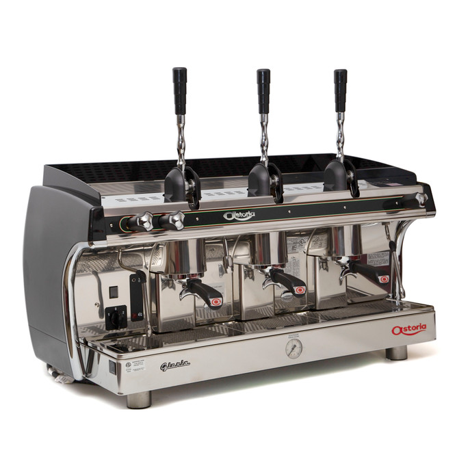 3 group Astoria Gloria A L Lever Espresso Machine