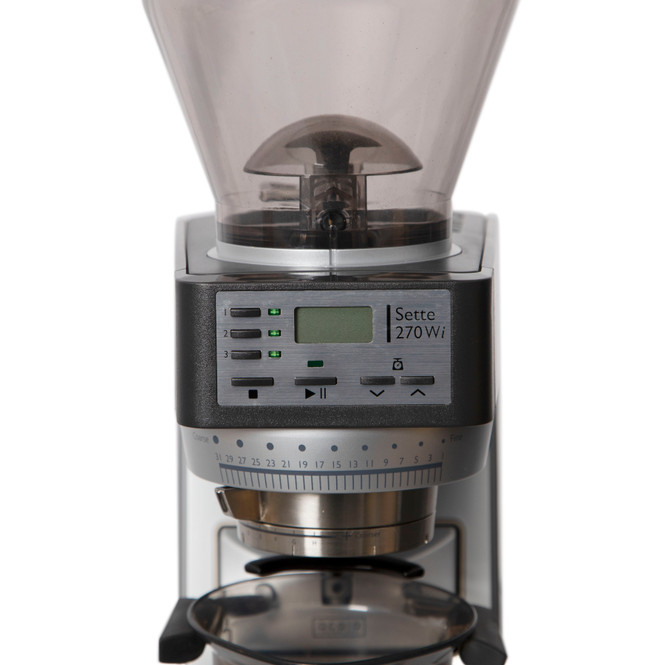 Baratza Sette 270Wi Weight-based Conical Burr Coffee and Espresso Grinder Display Panel