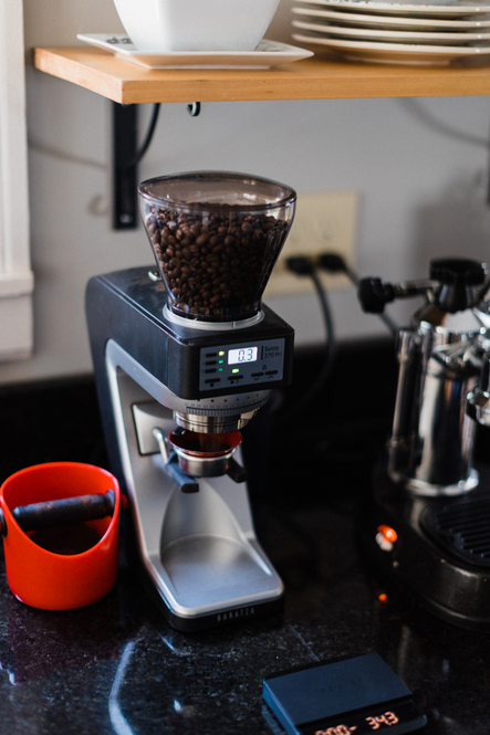 Baratza Sette 270Wi Weight-based Conical Burr Coffee and Espresso Grinder Home Setup