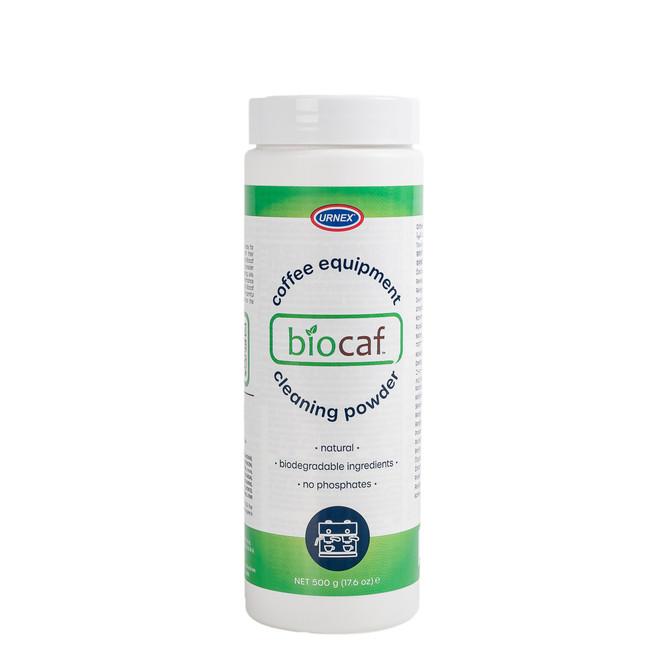 Urnex Biocaf espresso machine cleaning powder