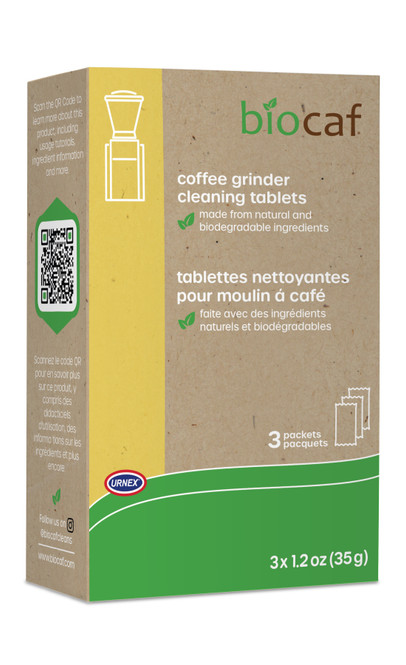 Biocaf Coffee Grinder Cleaning Tablets - 3 Packets