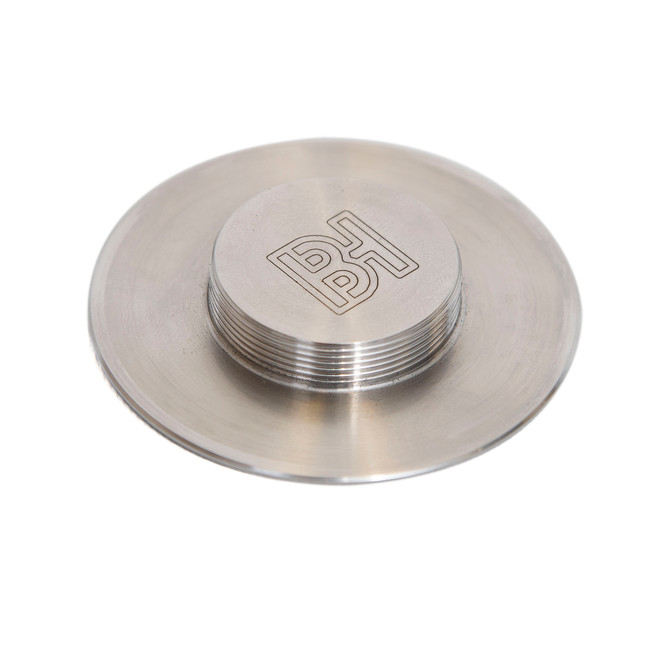Barista Hustle Replacement Tamper Base - 58.4 mm Steel