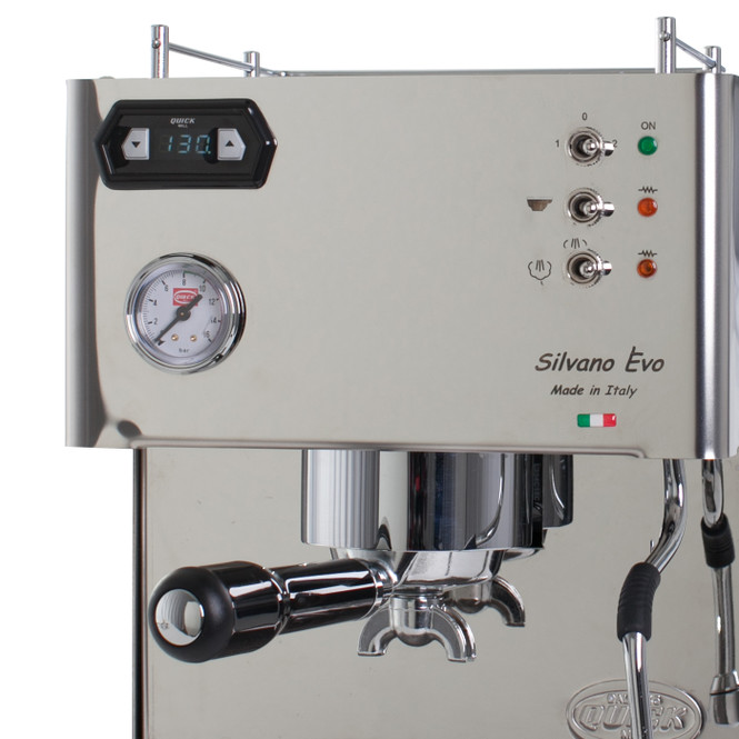 Quickmill Silvano Evo Machine Controls