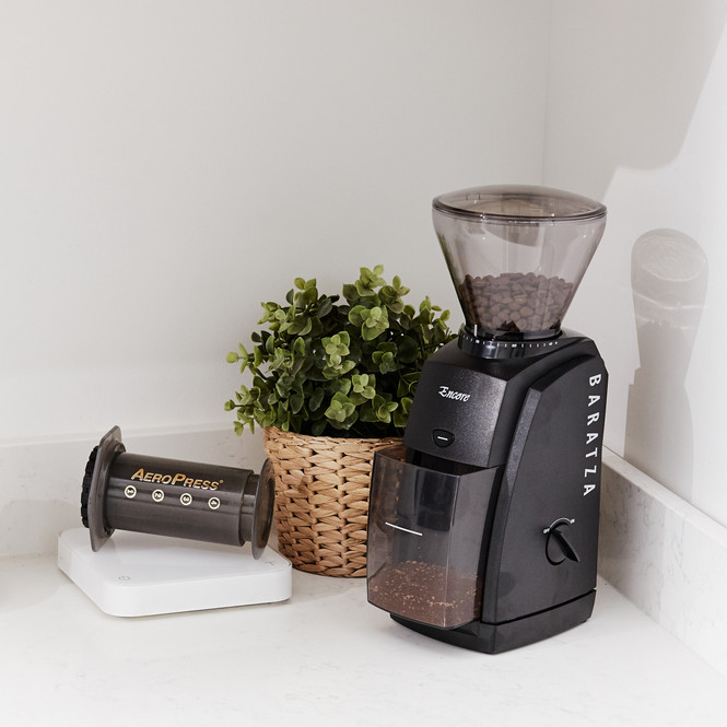 Baratza Encore Conical Burr Coffee Grinder, Black