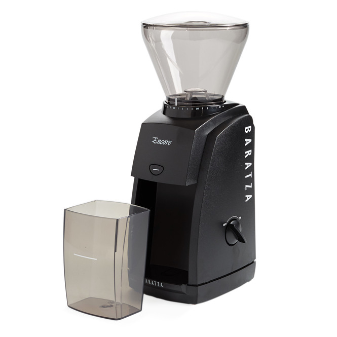 Baratza Encore Conical Burr Coffee Grinder Black Grinds Catch