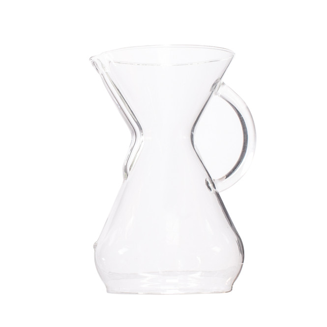 Chemex Classic Series Glass Coffeemaker with Handle, 8 cup capacity
