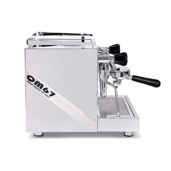 Quick Mill QM67 Evo Dual Boiler Espresso Machine side view
