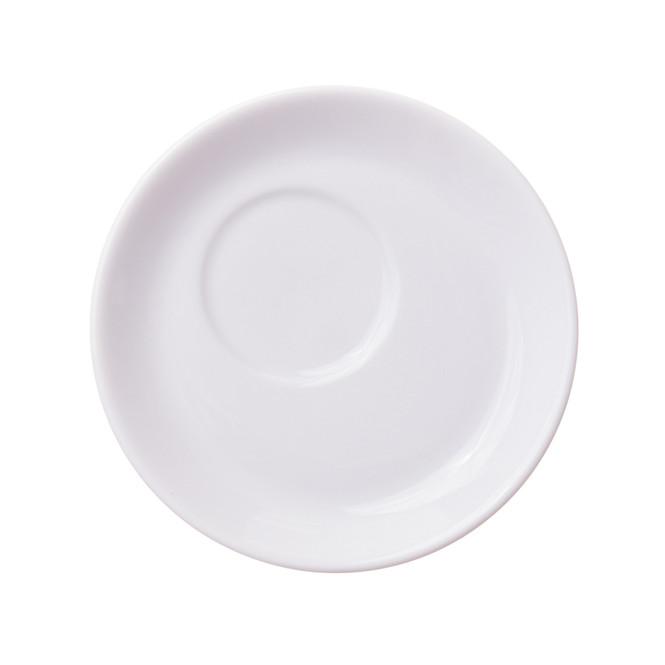 porcelain cappuccino saucer