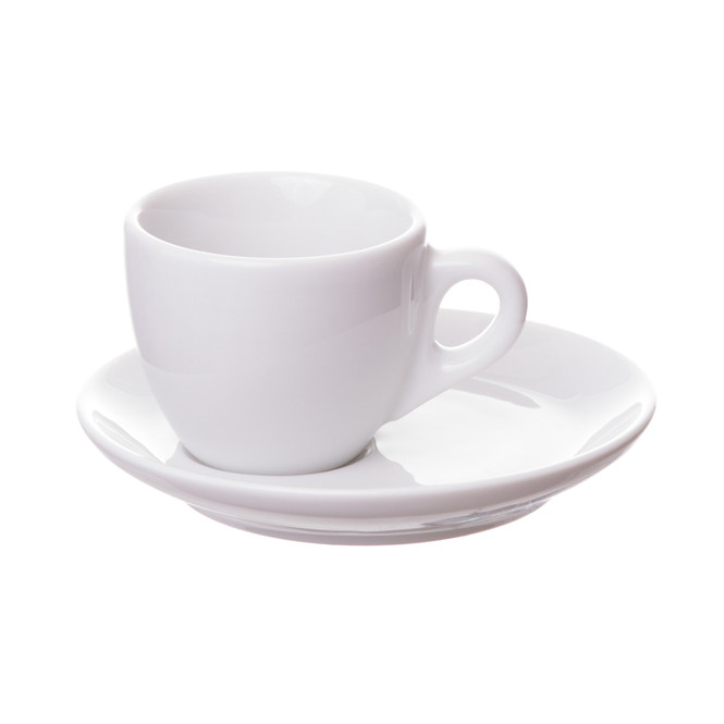 porcelain deimtasse cup with saucer