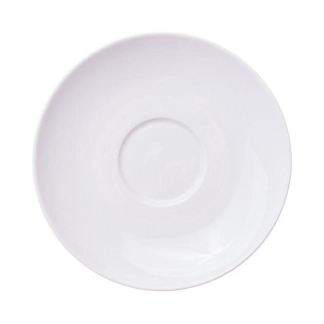 Verona Jumbo Latte Porcelain Saucer