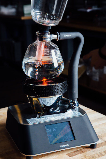 Hario Smart Beam Heater With Siphon Brewer