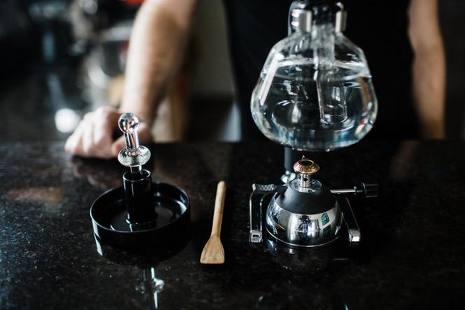Yama Butane Burner and Siphon Coffee Brewer