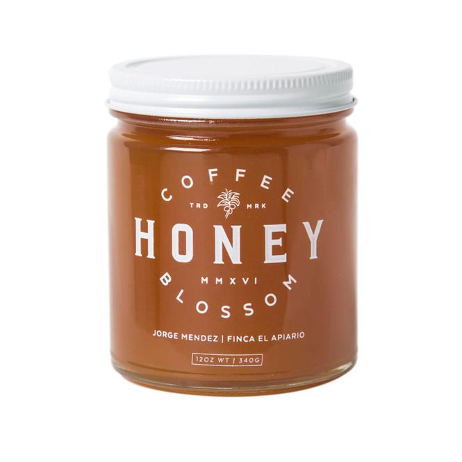 Coffee Blossom Honey Jar Front