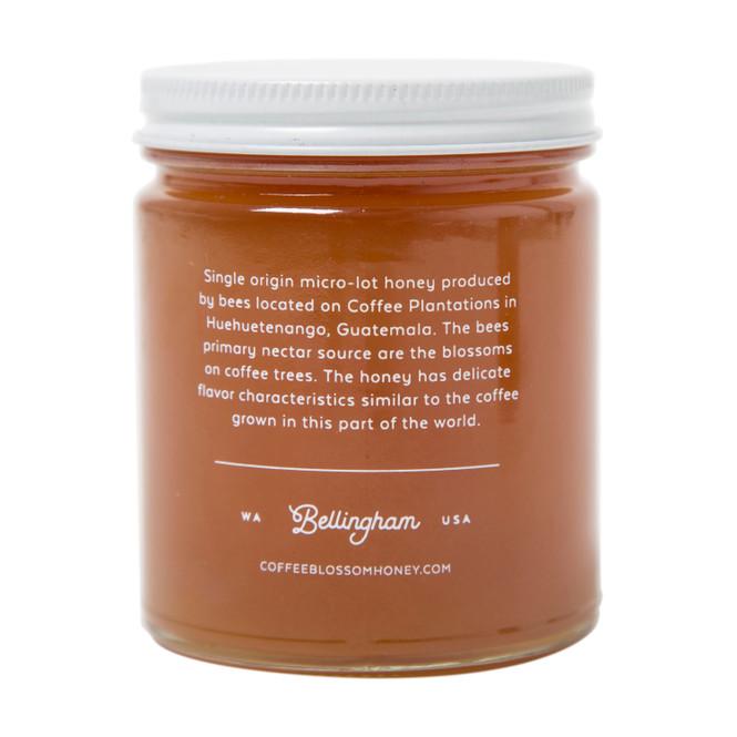 Coffee Blossom Honey Jar Back