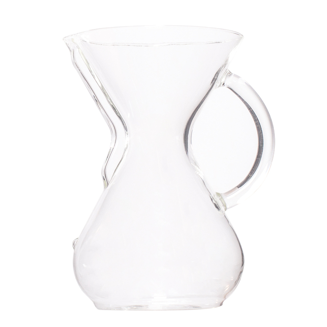 Chemex 6 Cup Brewer -- Glass Handle