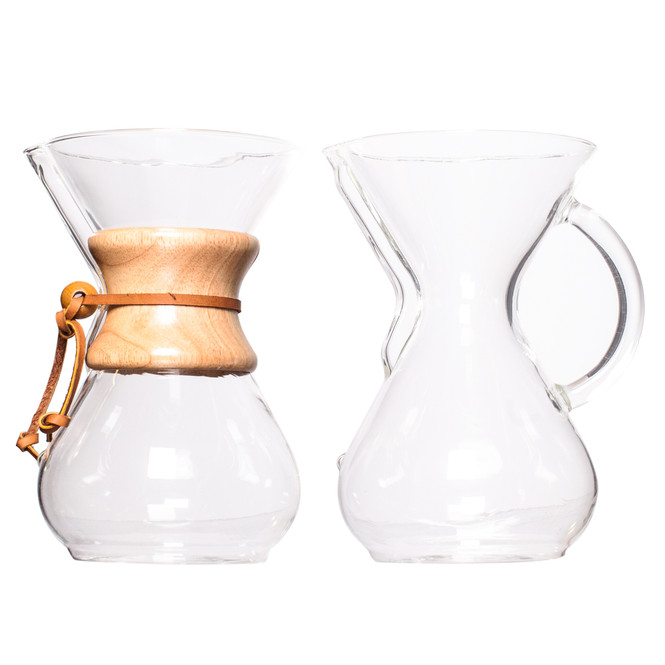 Chemex 6 Cup Brewers side by side
